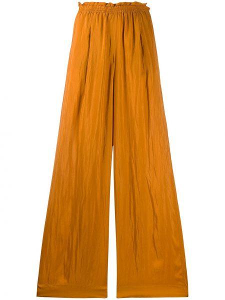 Свободные брюки палаццо с поясом Forte Forte