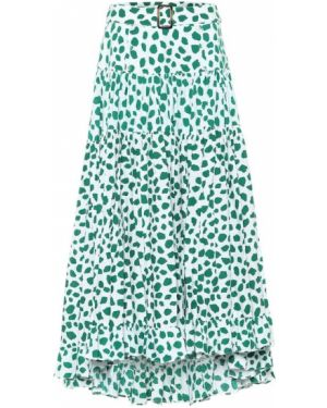 Зеленая юбки-пачки юбка Alexandra Miro