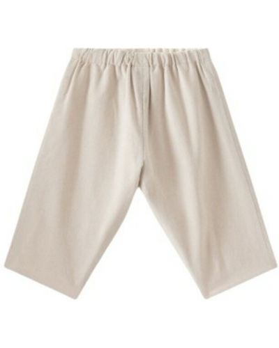 Beżowe spodnie Bonpoint
