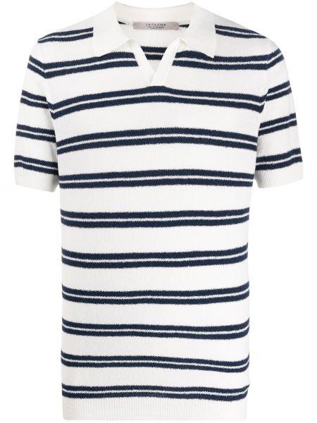 Классическая классическая рубашка с воротником с нашивками с манжетами La Fileria For D'aniello