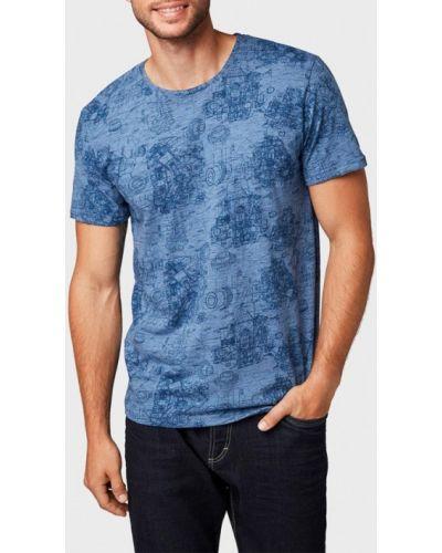 Синяя футболка Tom Tailor