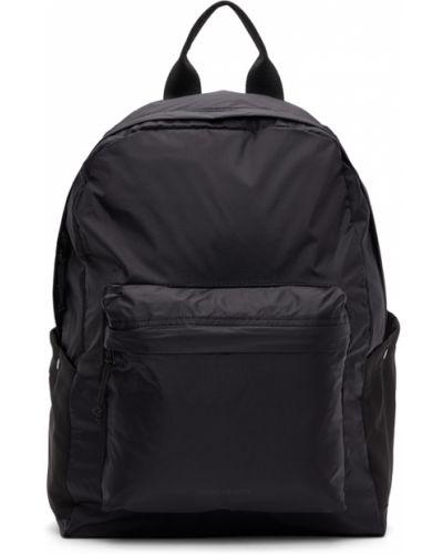 Czarny plecak z nylonu Norse Projects