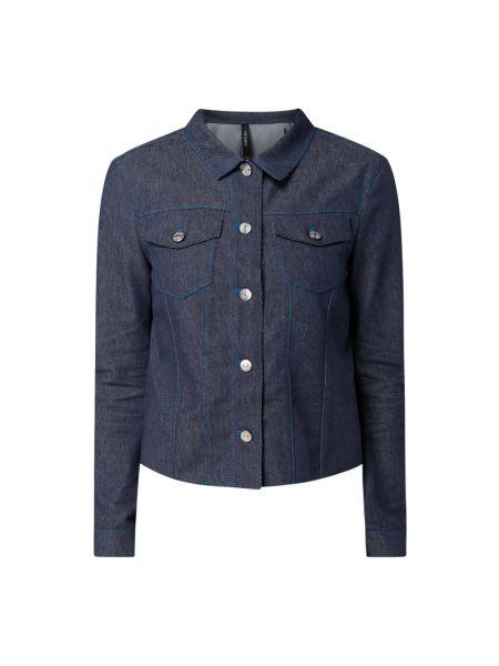 Niebieska kurtka jeansowa bawełniana Marc Cain