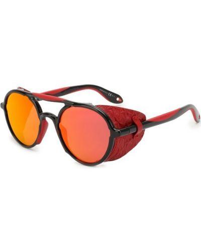 Красные солнцезащитные очки Givenchy