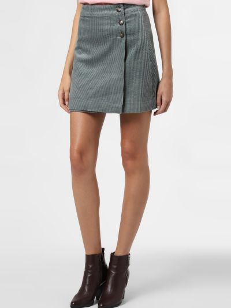 Zielona spódnica mini vintage Mbym