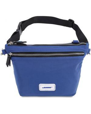 Niebieski pasek z paskiem The Bags