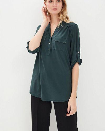 Блузка осенняя зеленый Wallis