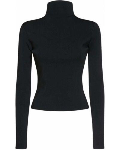 Трикотажная водолазка - черная Versace