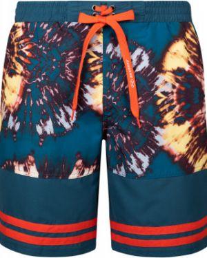 Гипоаллергенные синие спортивные пляжные пляжные шорты Exxtasy