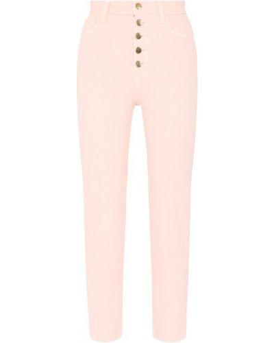Укороченные джинсы розовый J Brand