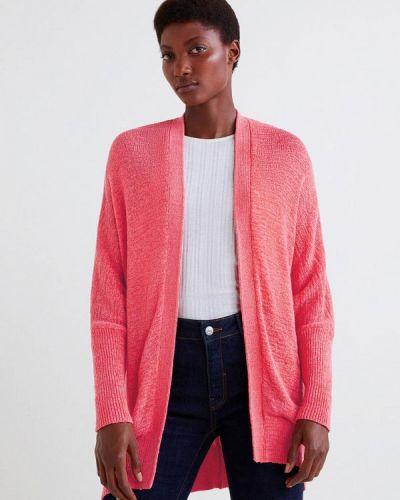 Розовый кардиган Mango