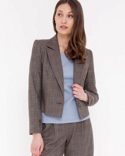 Коричневый пиджак Gregory