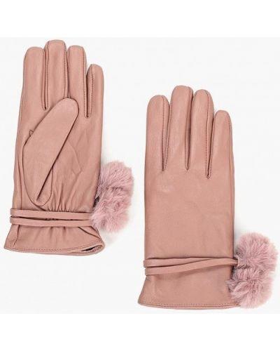 Розовые кожаные перчатки Dorothy Perkins
