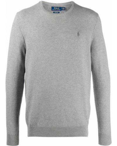 Bawełna bawełna koszulka polo z haftem z długimi rękawami Polo Ralph Lauren