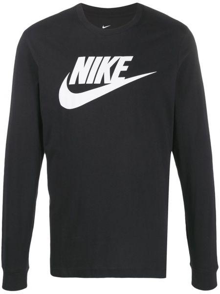Koszula z długim rękawem z logo prosto Nike