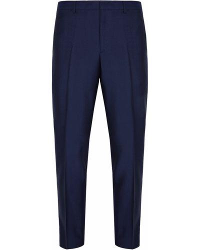 Классические брюки с карманами синий Prada