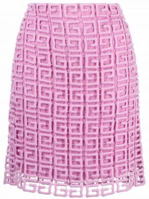 Spódniczka mini - różowa Givenchy