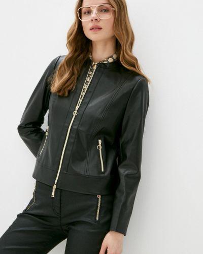 Черная кожаная куртка Betty Barclay