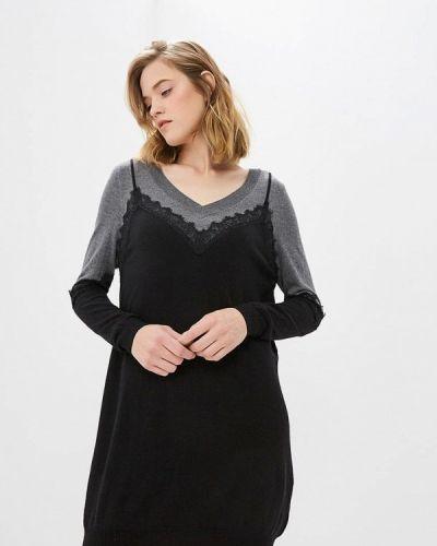 Вязаное платье осеннее трикотажное Pinko