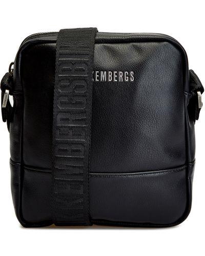 Черная сумка с логотипом Bikkembergs