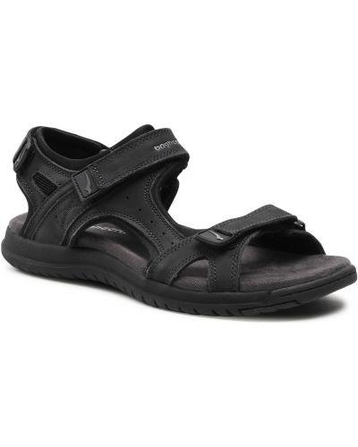 Czarne sandały na lato Bagheera
