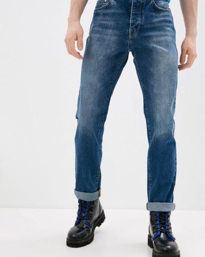 Синие зауженные джинсы-скинни Iceberg