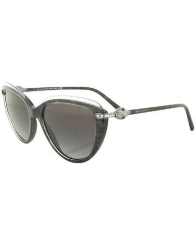 Szare okulary Bvlgari