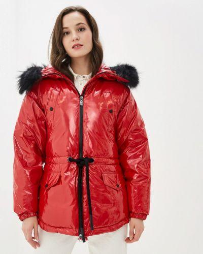 Зимняя куртка осенняя красная Odri Mio