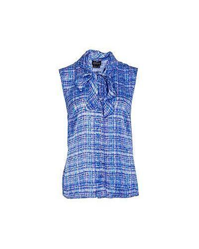 Фиолетовая блузка Luisa Spagnoli