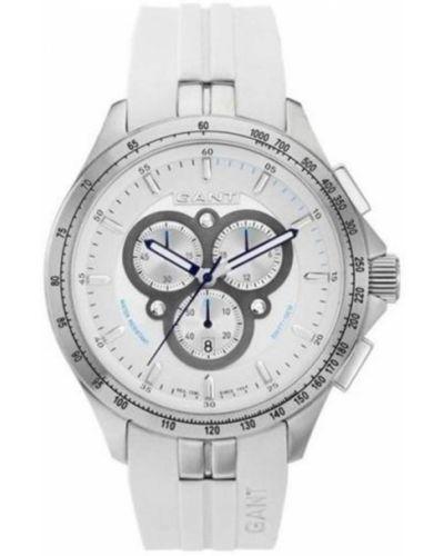 Biały zegarek Gant
