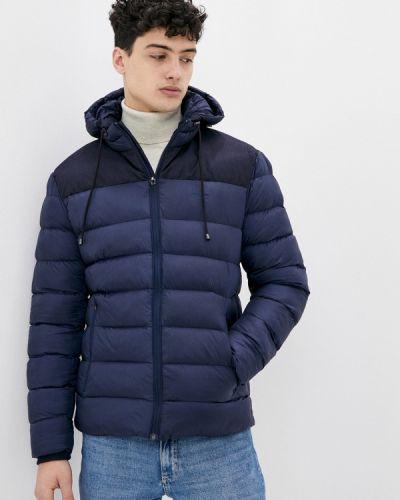 Утепленная синяя куртка Bilcee