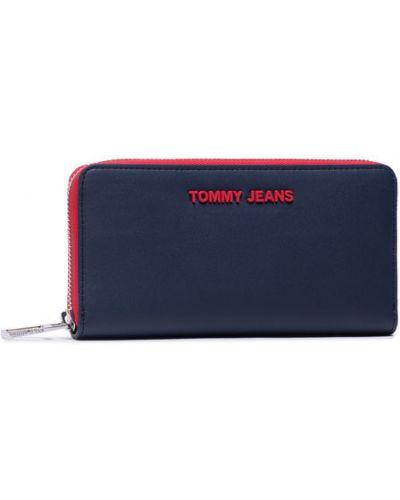 Walizka materiałowa granatowa Tommy Jeans
