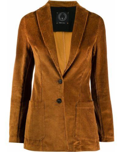 Пиджак вельветовый в полоску T Jacket