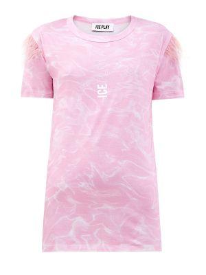 Розовый хлопковый топ Ice Play