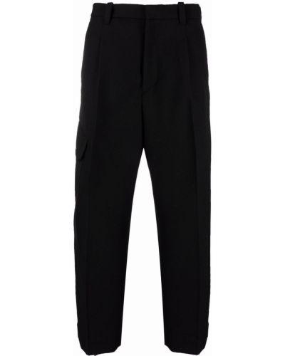 Czarne spodnie bawełniane Oamc