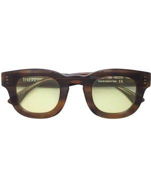 Прямые солнцезащитные очки квадратные с завязками Thierry Lasry