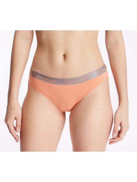 Оранжевые бикини Calvin Klein
