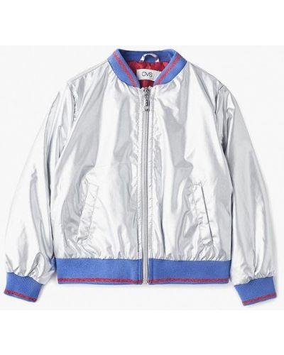 Куртка теплая серебряного цвета Ovs