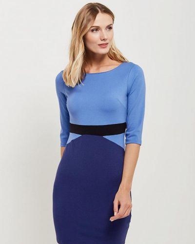 Голубое платье с длинными рукавами Silvian Heach