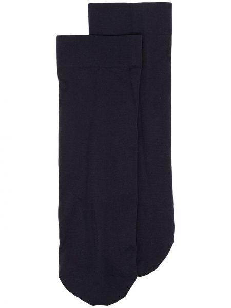 Синие носки Wolford