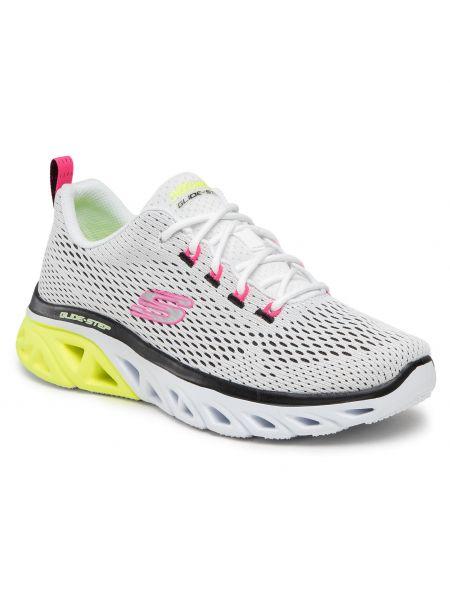 Sneakersy - białe Skechers
