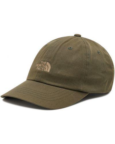 Zielona czapka z daszkiem The North Face