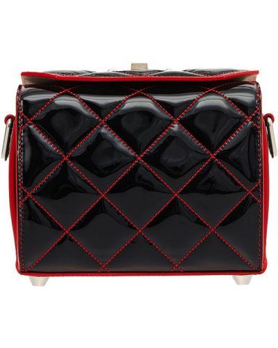 Кожаная сумка на цепочке сумка-саквояж Alexander Mcqueen