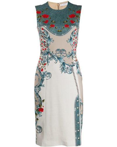 Платье с разрезом - белое Versace Collection