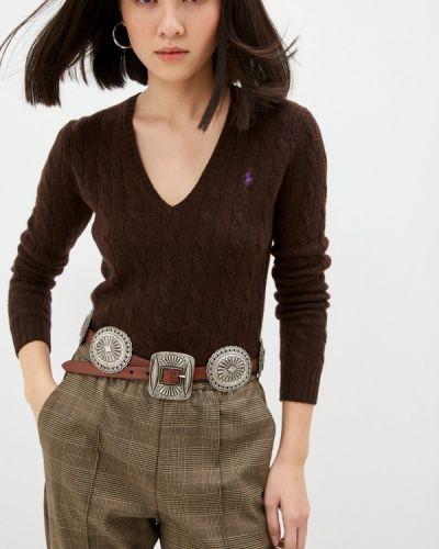 Коричневый пуловер Polo Ralph Lauren