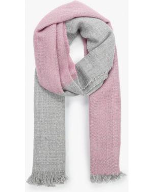 Шарф серый розовый Koton