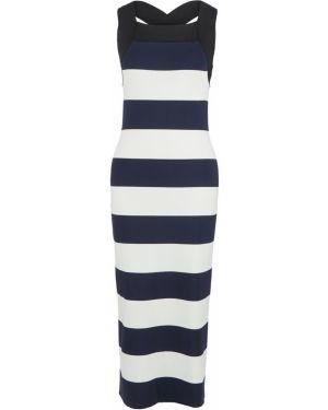 Платье макси в полоску платье-сарафан Lacoste