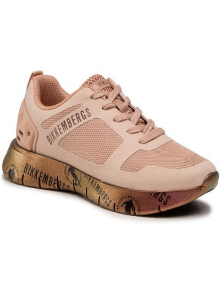 Różowe sneakersy Bikkembergs