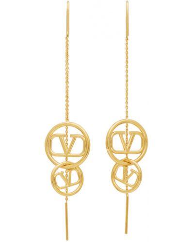 Kolczyki ze sztyftem złoto Valentino