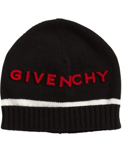Kapelusz z logo kaszmir Givenchy